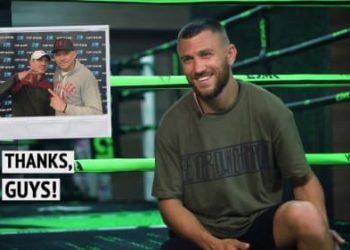 Интервью Ломаченко о предстоящем поединке с Лопесом