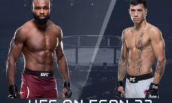 Видео боя Маки Питоло — Даррен Стюарт / UFC Fight Night 174