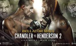 Full fight video: Michael Chandler vs. Benson Henderson 2 / Bellator 243