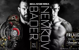 Full fight video: Vadim Nemkov vs. Ryan Bader / Bellator 244