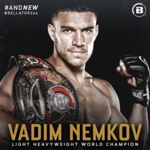 Вадим Немков одержать победу над Райаном Бейдером