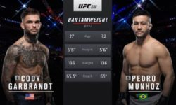 Full fight video: Pedro Munhoz vs. Cody Garbrandt / UFC 235