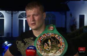 Александр Поветкин прокомментировал бой с Уайтом