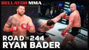 Путь до Bellator 244 — Райан Бейдер | Видео