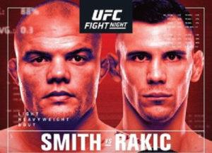 UFC Fight Night: Смит - Ракич