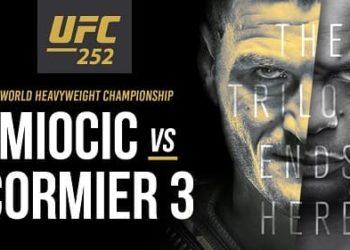 UFC 252: Миочич — Кормье 3 / Прямая трансляция