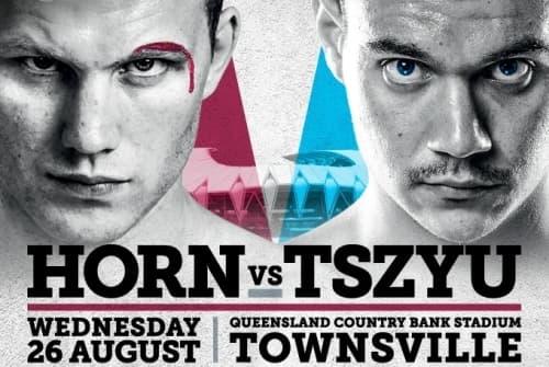 Тим Цзю и Джефф Хорн проведут бой 26 августа