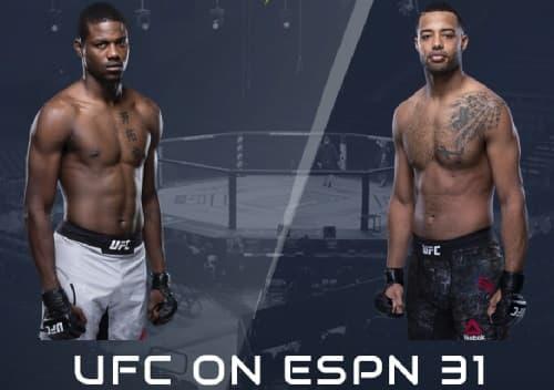 Видео боя Тревин Джайлс - Кевин Холланд / UFC Fight Night
