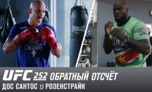 UFC 252: Обратный отсчет - Дос Сантос vs Розенстрайк