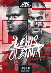 Прямая трансляция UFC Fight Night 174: Олейник vs Льюис