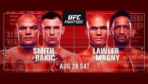 UFC Fight Night 175: Смит - Ракич / Прямая трансляция