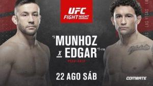 UFC on ESPN 15: Муньос - Эдгар / Прямая трансляция