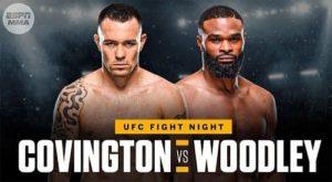 UFC Fight Night: Ковингтон - Вудли