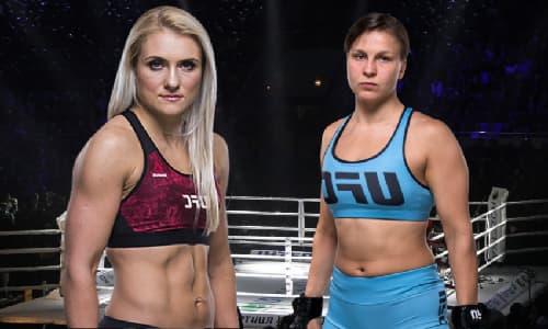 Видео боя Яна Куницкая - Юлия Столяренко / UFC Fight Night 174