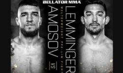 Full fight video: Yaroslav Amosov vs. Mark Lemminger / Bellator 244