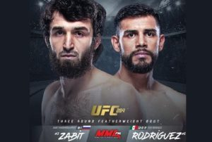 Забит Магомедшарипов и Яир Родригес сразятся на UFC 254