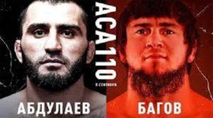 Видео боя Али Багов - Мурад Абдулаев / ACA 110