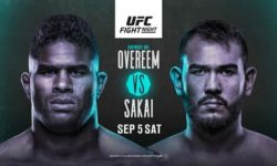 Full fight video: Alistair Overeem vs. Augusto Sakai / UFC Fight Night 176