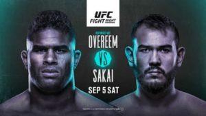 Full fight video: Alistair Overeem vs. Augusto Sakai / UFC Fight Night 176