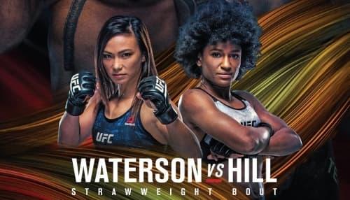 UFC Fight Night 177: Мишель Уотерсон - Анджела Хилл