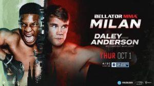 Bellator 247: Дэйли - Андерсон
