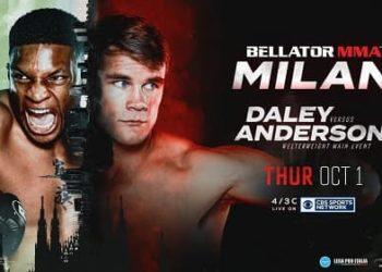 Bellator 247: Дэйли — Андерсон