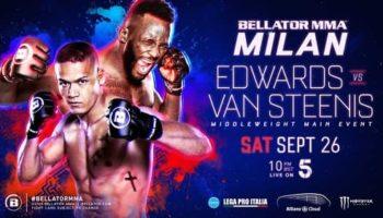 Bellator Euro Series 8: Эдвардс — Ван Стинис