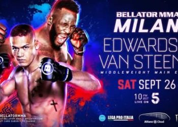 Bellator Euro Series 8: Эдвардс — Ван Стинис