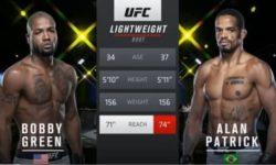 Видео боя Бобби Грин — Алан Патрик / UFC Fight Night 177