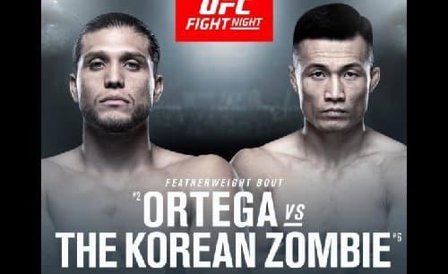 UFC Fight Night: Брайан Ортега - Чан Сун Чжун