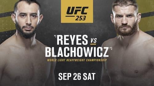 Видео боя Доминик Рейес - Ян Блахович / UFC 253