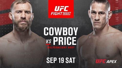 Видео боя Дональд Серроне - Нико Прайс / UFC Fight Night 178