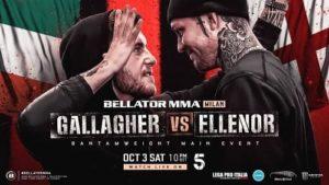 Bellator Euro Series 9: Галлахер - Элленор