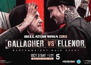 Bellator Euro Series 9: Галлахер — Элленор