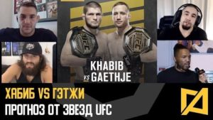 UFC 254: Хабиб vs Гэтжи - Прогноз на бой от звезд UFC