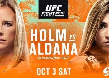UFC Fight Night: Холм — Алдана