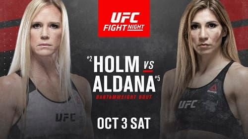 UFC Fight Night 179: Холли Холм - Ирен Алдана