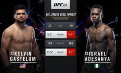 Full fight video: Israel Adesanya vs. Kelvin Gastelum / UFC 236