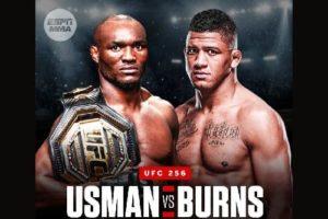 Бой между Усманом и Бернсом планируется на UFC 256