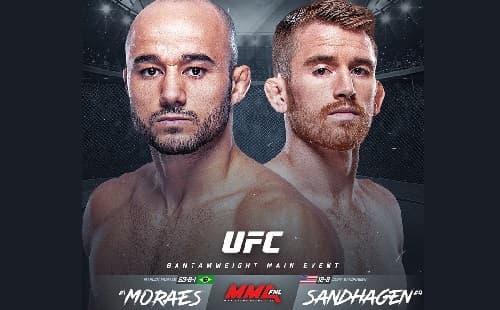 UFC Fight Night 180: Марлон Мораес - Кори Сэндхаген
