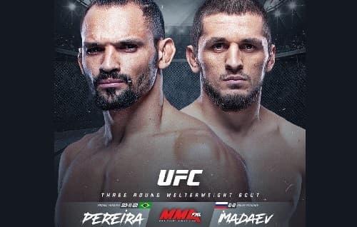 Видео боя Мичел Перейра - Зелим Имадаев / UFC Fight Night 176