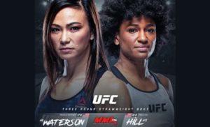 Бой Уотерсон - Хилл станет главным событием на UFC Vegas 10