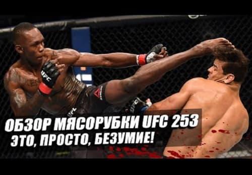 Видео обзор турнира UFC 253