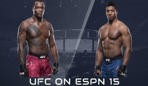 Видео боя Овинс Сен-Прё - Алонзо Менифилд / UFC Fight Night 176