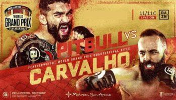 Бой Патрисио Фрейре против Педро Карвальо состоится в ноябре