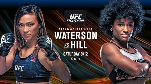 UFC Fight Night 177: Уотерсон - Хилл / Прямая трансляция