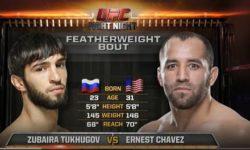 Видео боя Зубайра Тухугов — Эрнест Чавез / UFC 239