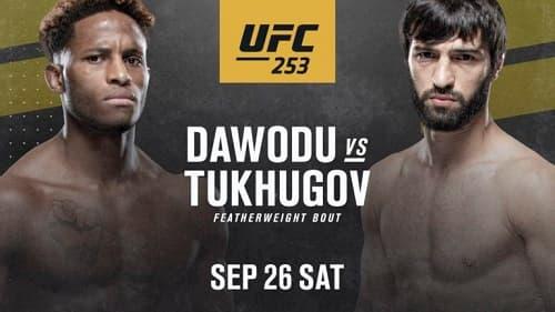 Видео боя Зубайра Тухугов - Хаким Даводу / UFC 253