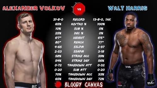 Видео боя Александр Волков - Уолт Харрис / UFC 254