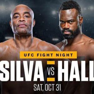 UFC Fight Night: Сильва - Холл